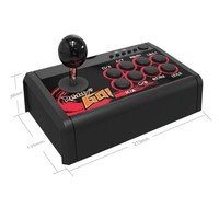 Fighting Stick For Swtich/PS3/PC/Android 4 In 1 Arcade Fighting Stick USB Rocker Game Controller Arcade Joystick Gamepad