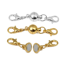 Diy Bracelet Ball Necklace-Accessories Lobster-Clasp-Connector Jewelry Making-Findings
