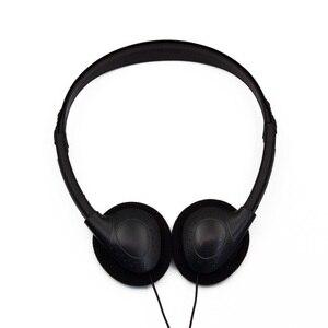 Image 5 - Auriculares estéreo con cable para ordenador sin micrófono, Auriculares deportivos para videojuegos, MP3, con cancelación de ruido, Universal