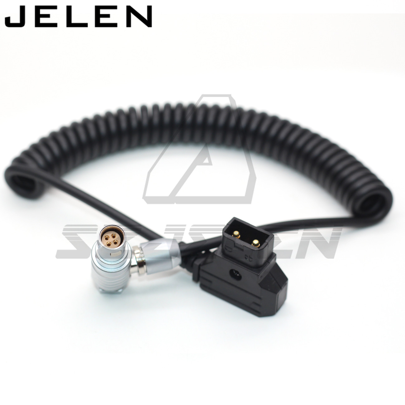 DTAP to Right angle 4 Pin female for ZHIYUN Weebill 3S Image Transmission Stabilizer power cable