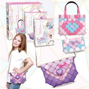 Toys Girls Craft-Bag Christmas-Gifts Kids DIY New Fashion for Handbag Juguetes Puzzles