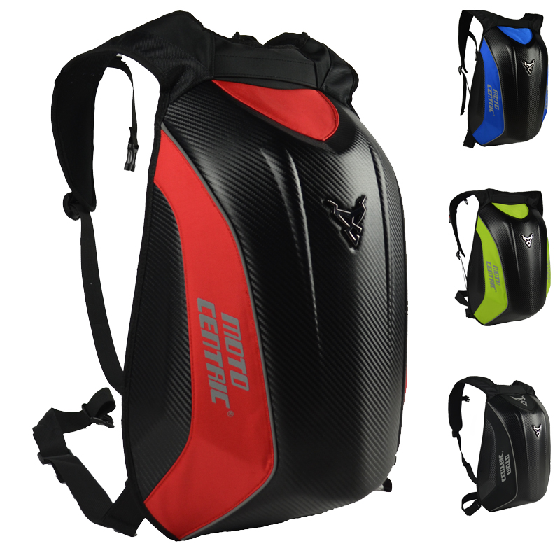 Motorcycle luggage <font><b>bags</b></font> Carbon Fiber backpack Motocross Racing Riding <font><b>bag</b></font> Motorcycle outdoor sports <font><b>bag</b></font> Hard shell mochila moto image