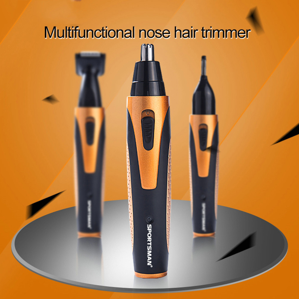 Nose Hair Trimmer For Men Beard Shaver Razor Electric Trimmer Face Body Care Shaving Machine Nose Trimmer Clipper Remove Hair