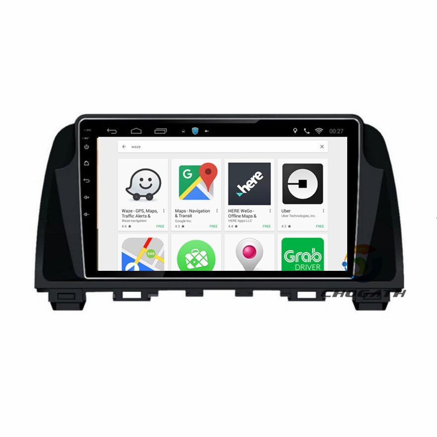 ChoGath car Multimedia Player 9inch 2 din <font><b>android</b></font> 8.0 CAR <font><b>radio</b></font> GPS navigation for <font><b>Mazda</b></font> <font><b>6</b></font> Atenza 2013 2014 2015 2016 image