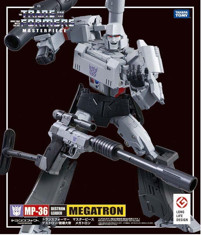 TAKARA TOMY Transformation MP36 CAR Metal Part Megatron Autobots Action Figure Deformation Robot Children Gift Toys
