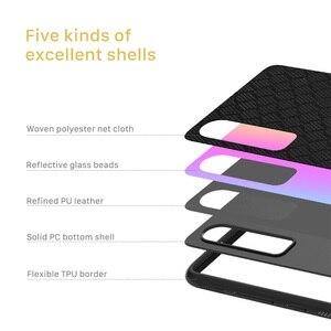 Image 5 - מקרה עבור Huawei P30 NILLKIN נצנץ רעיוני אופנה טלפון מקרה TPU מסגרת מחשב תחתון מעטפת נטו בד חזרה כיסוי עבור huawei P30
