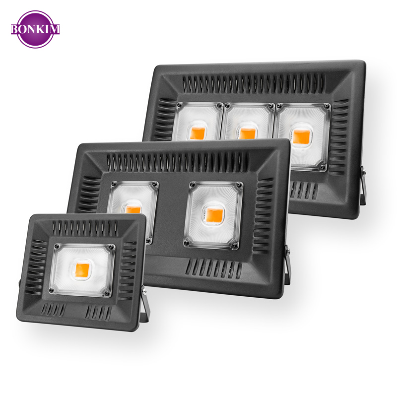 LED Flood Light 30W 50W 100W 150W AC110V 220V LED Reflector Lamp Garden Lamp Cold Warm White UV Grow Light Professional Lighting