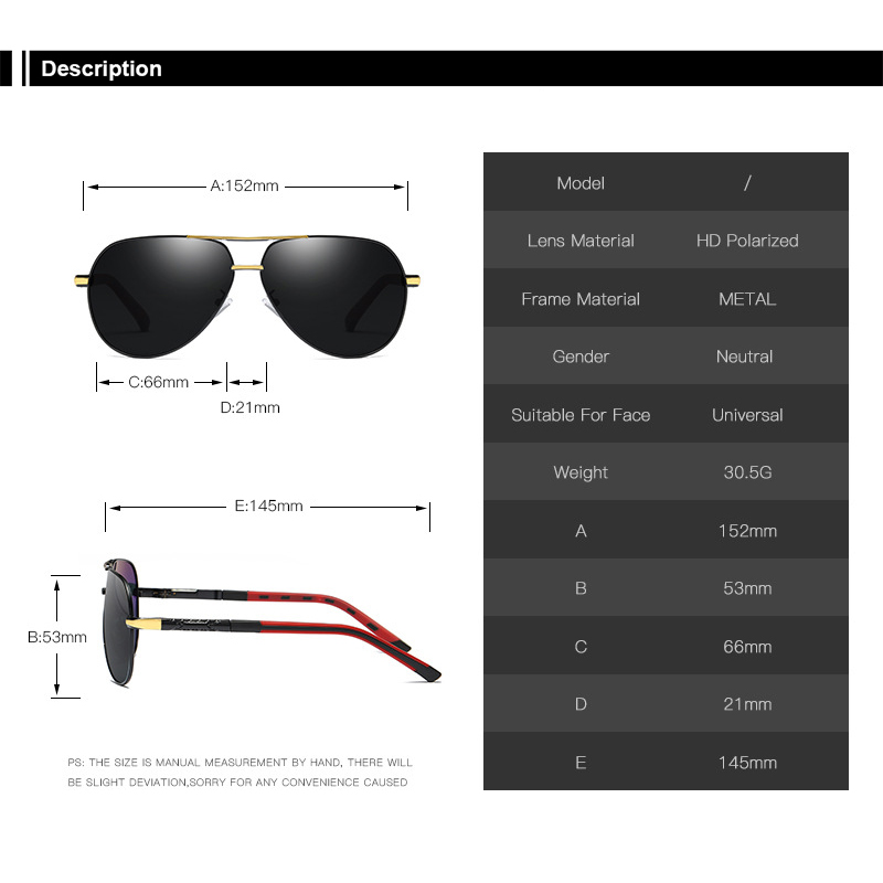 Polarized Sunglass Sets for Men Women Sunglasses Aluminum Magnesium Foot Wire Classic Style Fashion Sunglasses Driving Glass in Cycling Eyewear from Sports Entertainment