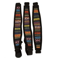 Snap Hook Sax Harness Guitar Accessories 1Pc Guitar Strap Ethnic Style Elastic Nylon Saxophone Neck Strap With