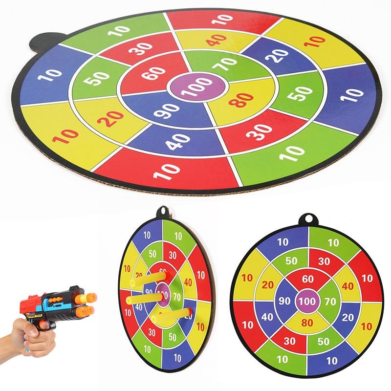 Dart Board For Children Toys For Nerf N-Strike Elite Series Of Darts Board Children Bullet Ball Target Game To Sports For Kids