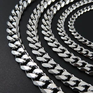 Necklace Mens Chain Male-Accessories Gifts Stainless-Steel Hip-Hop Wholesale for on