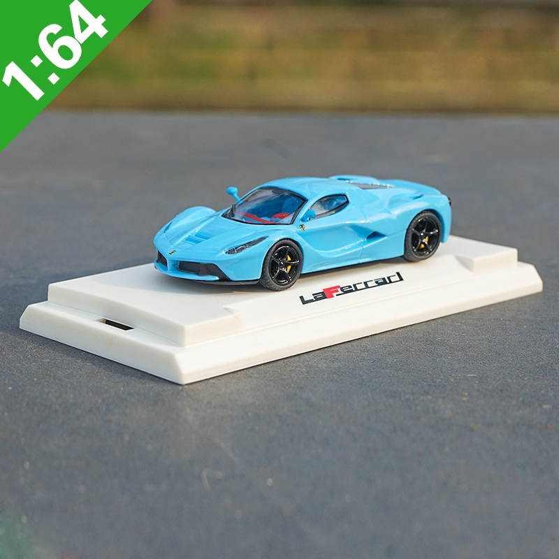 High Meticulous 1:64 LaFerrari Alloy Model Car Static Metal Model Vehicles For Collectibles Gift