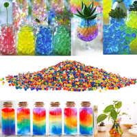 Environ 100 Pcs/lot perles d'eau de sol en cristal Hydrogel en forme de boue Bio Gel poussent des boules de gelée magiques Orbiz pour la maison de mariage décor de pâques