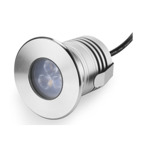 Stainless Steel IP68 3W CREE 12V 24V dc mini LED Spotlight CE Garden Swimming Pool Stair Spot Landscape Lighting