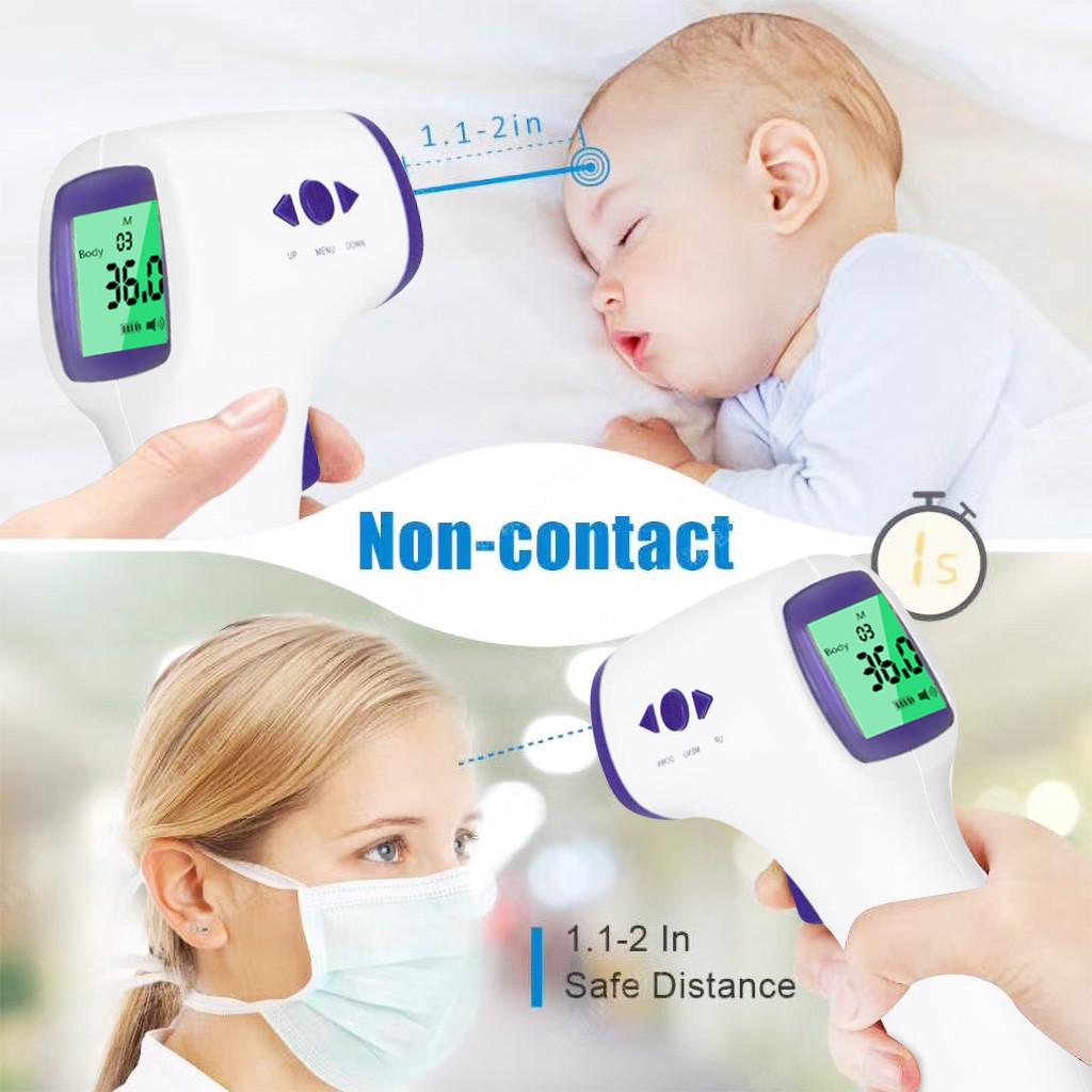 Forehead Thermometer Digital Infrared Body Temporal Thermometer Baby Adults Fever Ear Termometro Infrarojo Digital Термометр