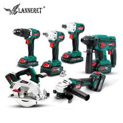 Taladro Inalámbrico sin escobillas de 20V, amoladora angular eléctrica, martillo rotativo, llave de impacto eléctrica, herramientas inalámbricas recargables