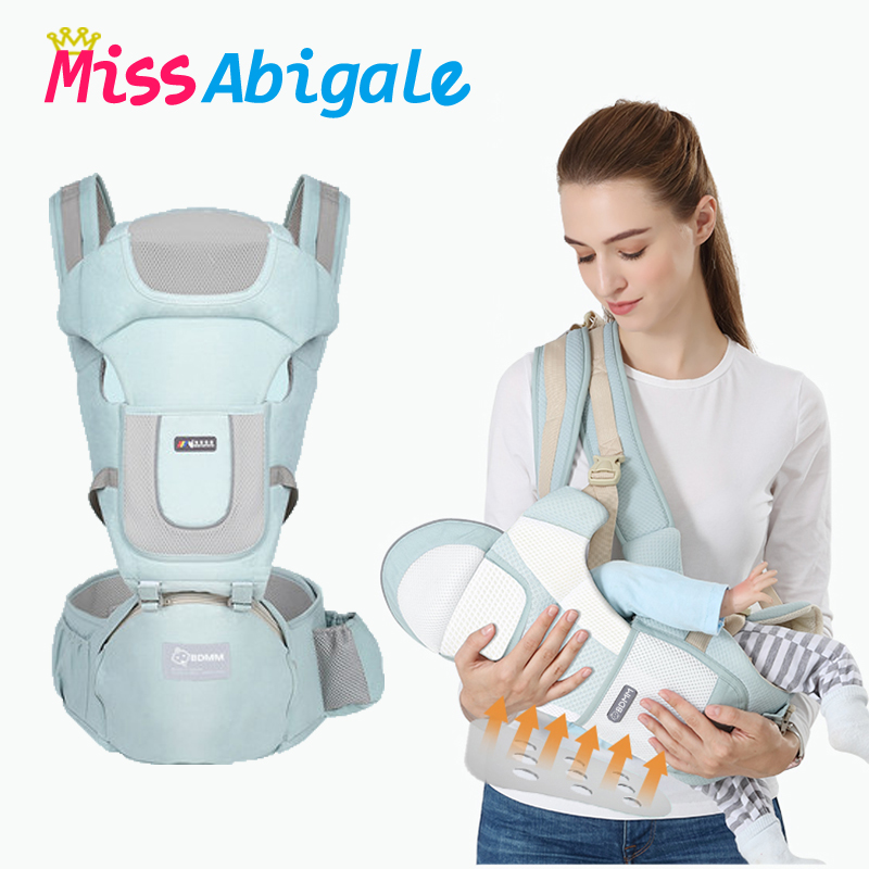 MissAbigale Ergonomic Baby Carrier Backpack Infant Baby Carrier Kangaroo for Children Hipseat Heaps Baby Sling for Newborns|Backpacks & Carriers| |  - AliExpress