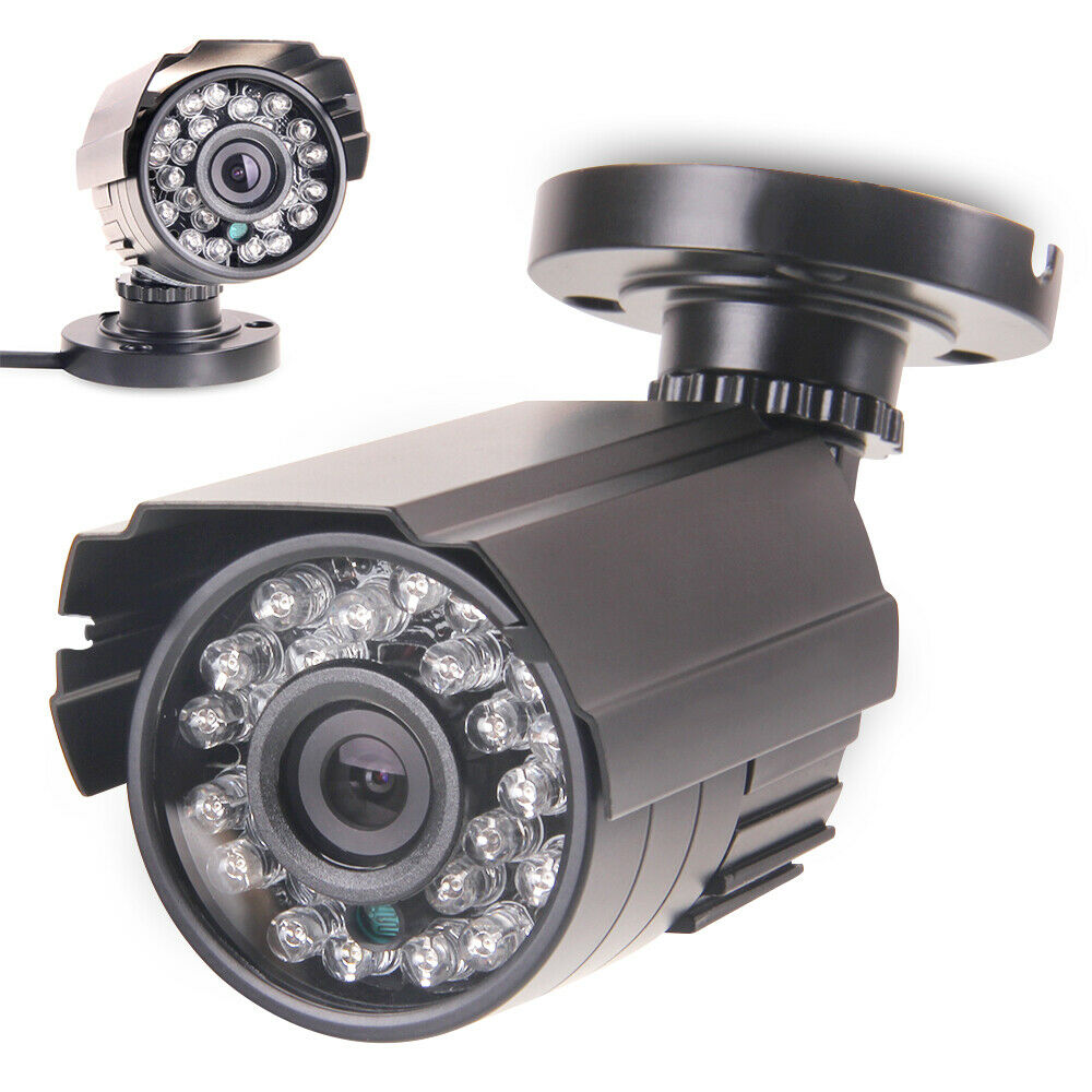 Waterproof Outdoor Mini Camera Housing Aluminum Security CCTV Camera Housing Add 24 LED Board For AHD TVI 1080P IPC CAMERA PC