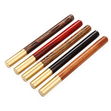 New High-grade Sandalwood Business Office Gift Signature Pen Creative Childrens Cultural and Educational Stationery