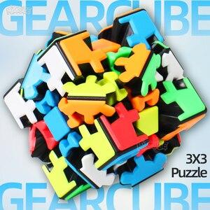 Image 1 - Yumo 3 × 3 ギアパズルツイストキューブ 3 × 3 × 3 ギア 3*3*3 プロゲームおもちゃ奇妙な形状