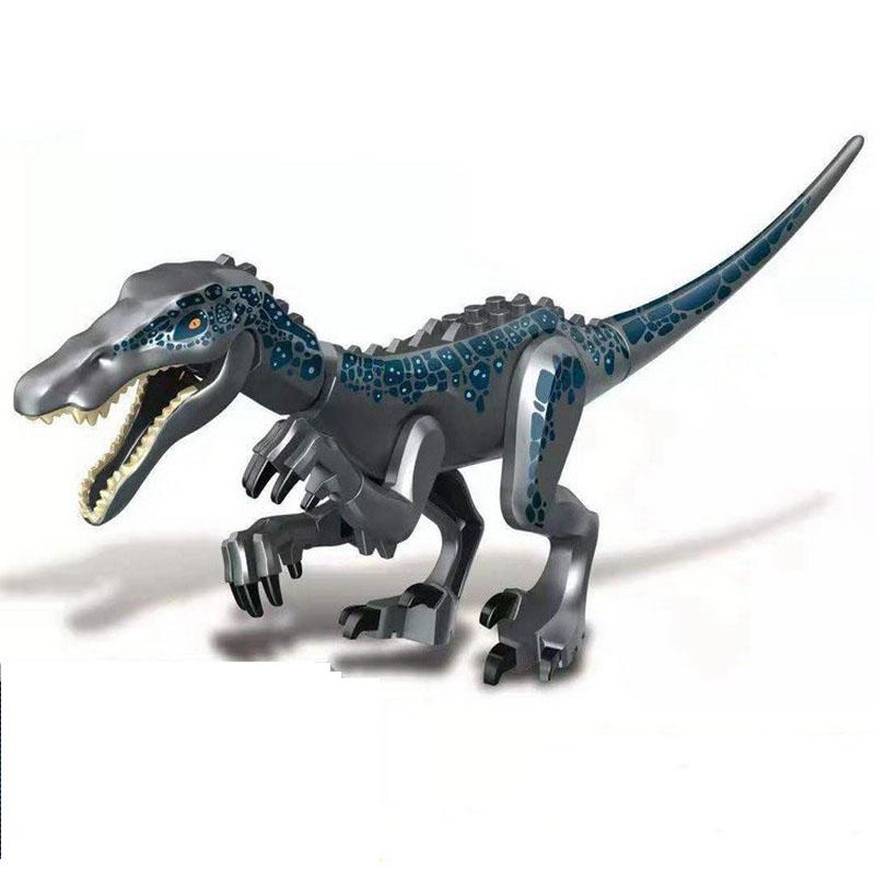 Jurassic Park World Dinosaur Baryonyx Indominus Rex Indoraptors Model Building Blocks Enlighten Action Figure Toys For Children