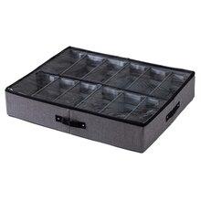 Прозрачная коробка для обуви, органайзер для хранения обуви, складная коробка для хранения обуви, домашняя коробка для хранения под кроватью
