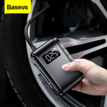 Baseus Portable Air Compressor Tyre Inflator Wireless Inflatable Auto Digital Electric Pump for Cars Motorcycle Bicycle Tires