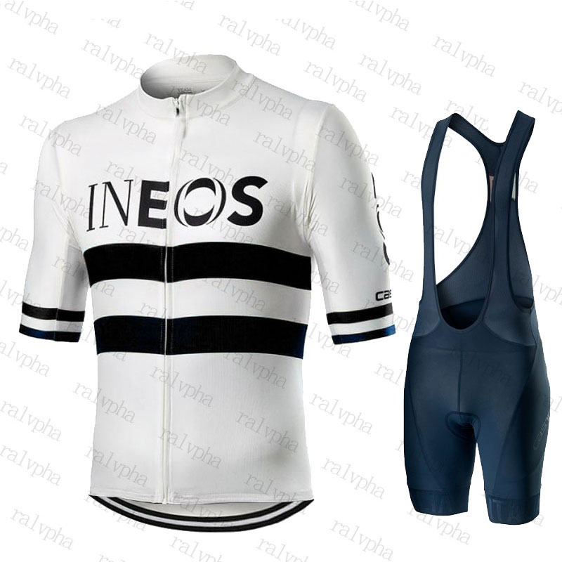 INEOS Go Pro Cycling Jersey Sets 2019 Team Ropa Ciclismo Hombre Racing Bicycle Clothing Suits Breathable Mountain Bike Clothes