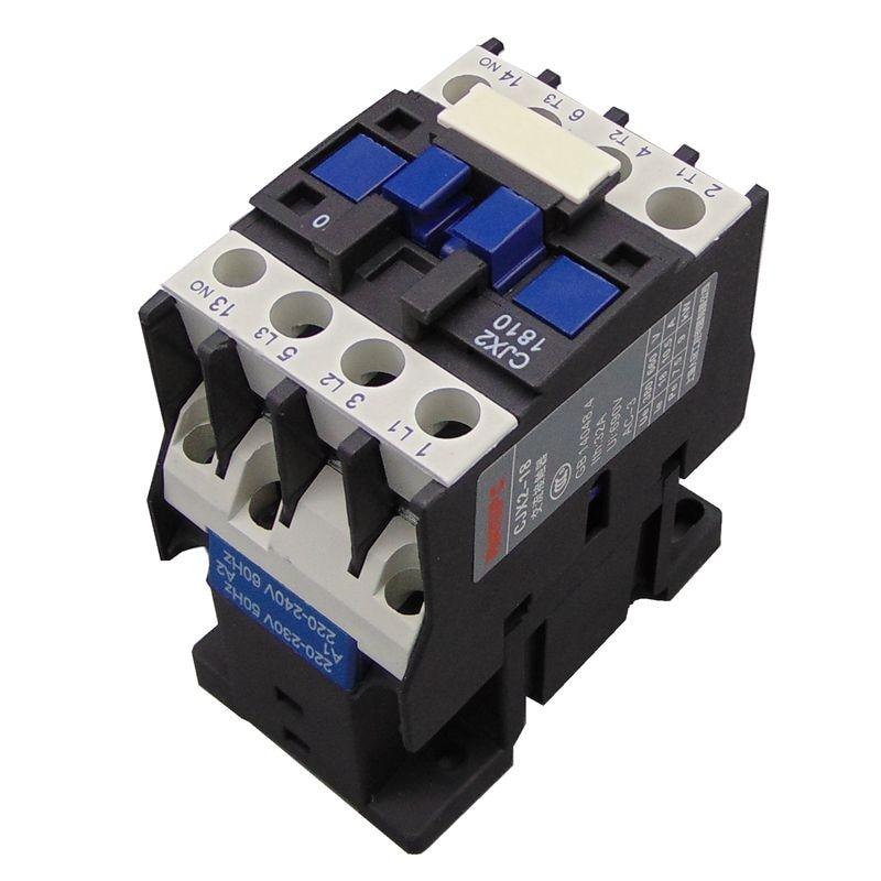 hkg 1810 - Contactor CJX2-1810 18A  switches LC1 AC contactor voltage 380V 220V 110V 36V 24V