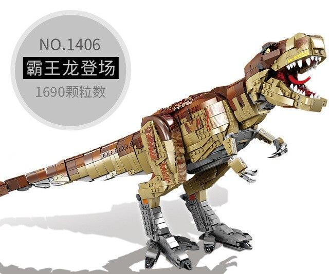 Фото конструктор юрский гигантский тираннозавр дебютный динозавр цена