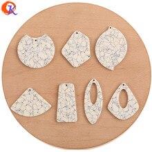 Cordial Design accessoires de bijoux, boucles doreilles, connecteurs/pendentif de bricolage/effet Turquoise/acide acétique/fait à la main/découvertes de boucles doreilles, 50 pièces