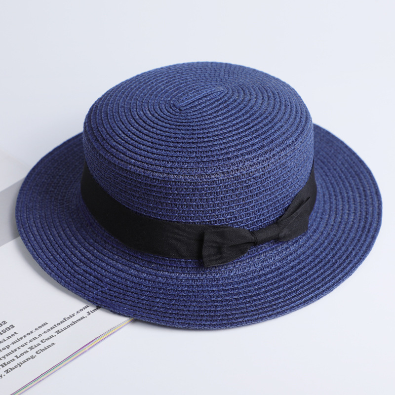 Simple Summer Casual Beach Hat Female 18