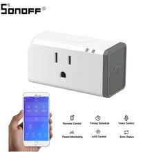 10 pçs sonoff s31 inteligente wifi interruptor de casa inteligente eua plug voz controle remoto automação residencial com o google casa alexa
