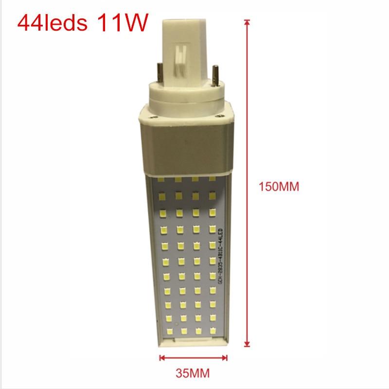 G24 44leds Size 11w