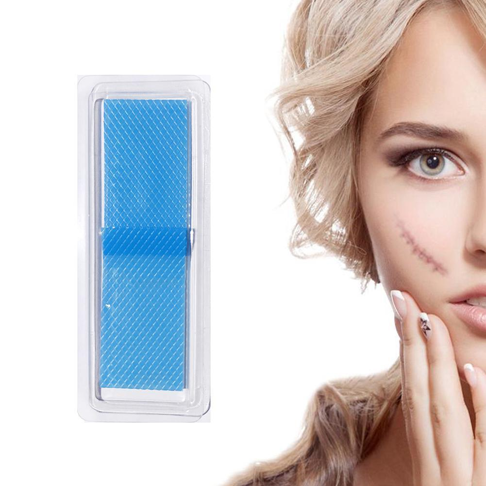 Reusable Acne Gel Scar Removal Patch Therapy Silicon Burn Remove Trauma Sheet Repair Silicone Patch Skin H9O0