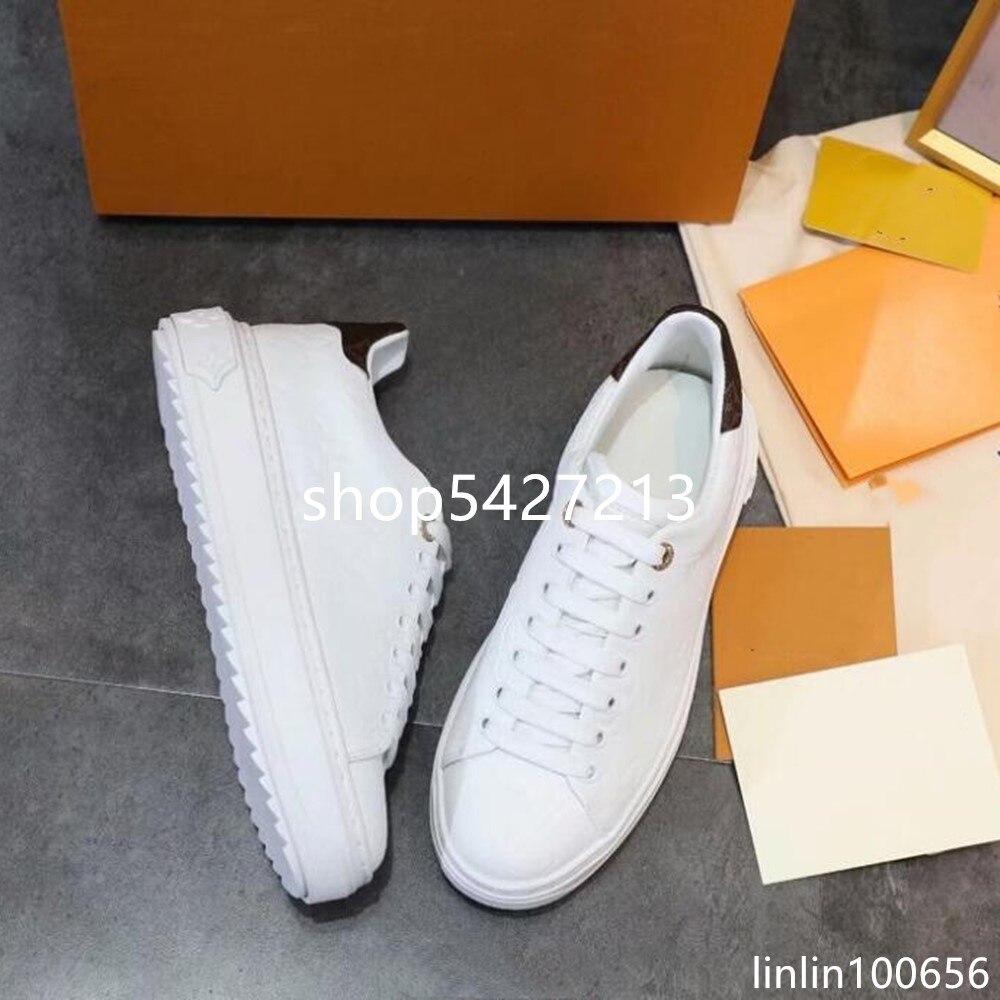 Marque internationale de luxe design simple impression dames blanc chaussures plates zapatos de mujer femme chaussure baskets femmes dame modis