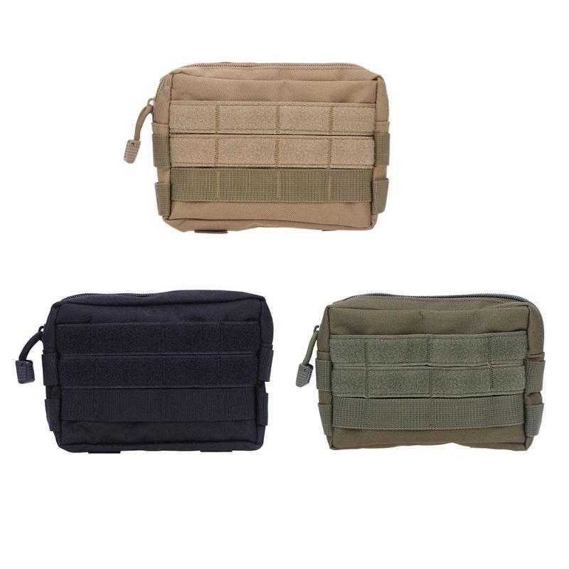 1 Uds bolso de cintura accesorios herramientas bolsa de cambio camuflaje Unisex bolsillos mochila