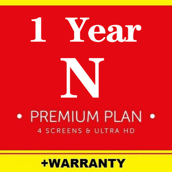Netflix 1 Year Subscription Netflix Premium Ultra HD Support 4 Screens Android Set Top Box Tv Stick Laptop PC Phone youtube premium warranty 1 month 1 year android mobile phone ios mobile phone computer notebook set top box for smart tv