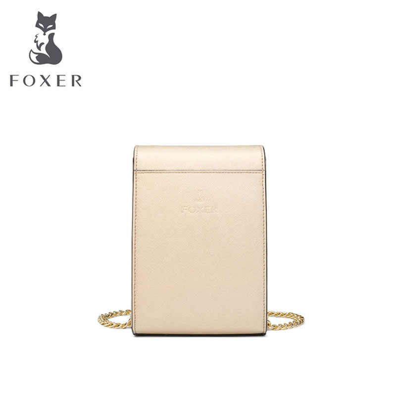 FOXER Women leather shoulder crossbody bags for women luxury handbags women bags designer bags famous brand women bags 2019 new