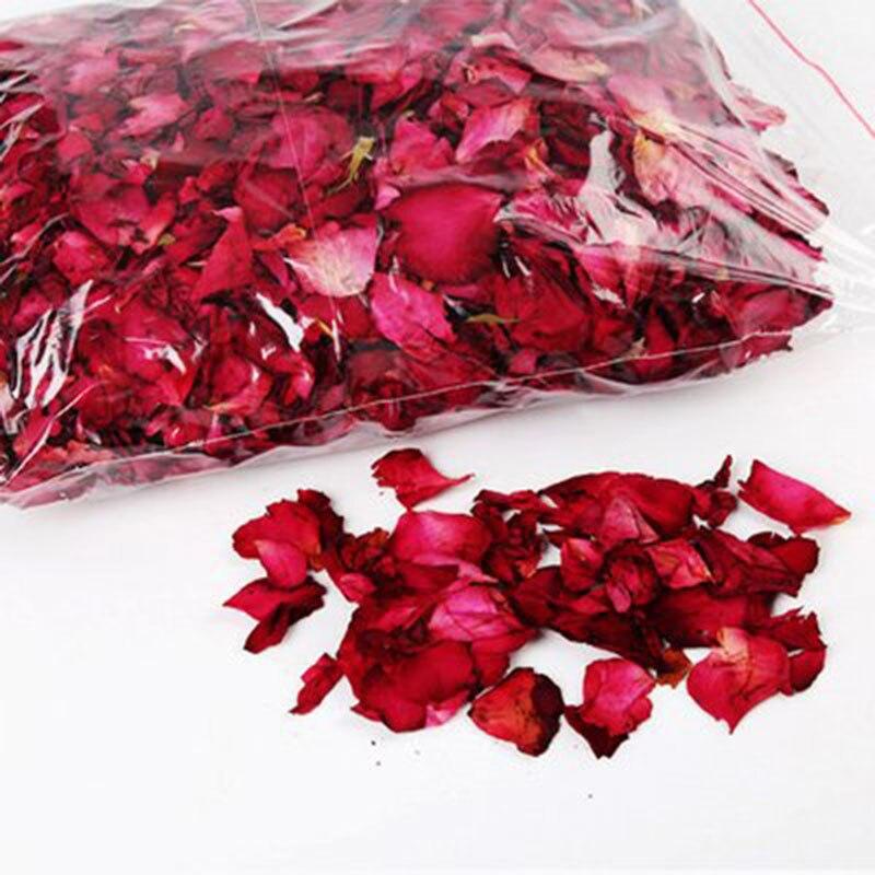 25/50г сухих лепестков роз натуральный цветочный баня спа душ отбеливания сухой цветок розы лепесток для купания снять благоухающее тело массажер