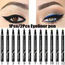 DNM 1 шт. красочный матовый карандаш для подводки глаз водонепроницаемый пятнистый пигмент вечерние синие белые подводки для глаз косметические инструменты TSLM2