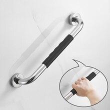 Non-slip Bathroom Handrail Grab Bar Toilet Shower Bathtub Safety Handrail Support Balance Grab Bar Stainless Steel Safety Rail