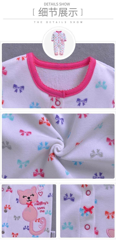 Majke i deca ... Odeća za bebe ... 32372037846 ... 2 ... 2020 new Winter Fleece baby clothes baby girls boys  Long sleeves bodysuit baby boy jumpsuit ...