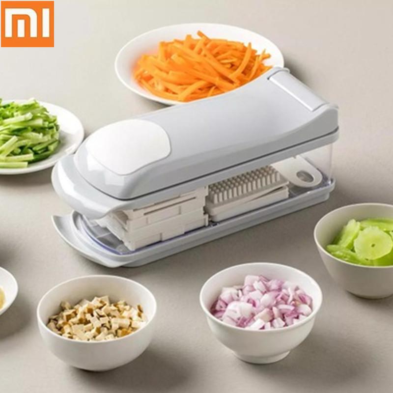 Xiaomi Multi Grater Cutter 6 In 1Kitchen Gadgets Vegetables Potato Shredder Peeler Slicer Carrot Cheese Grater Time Saving