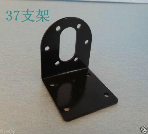 2pcs 37mm Mounting Bracket Stand For DC Gear Motor Iron Metal