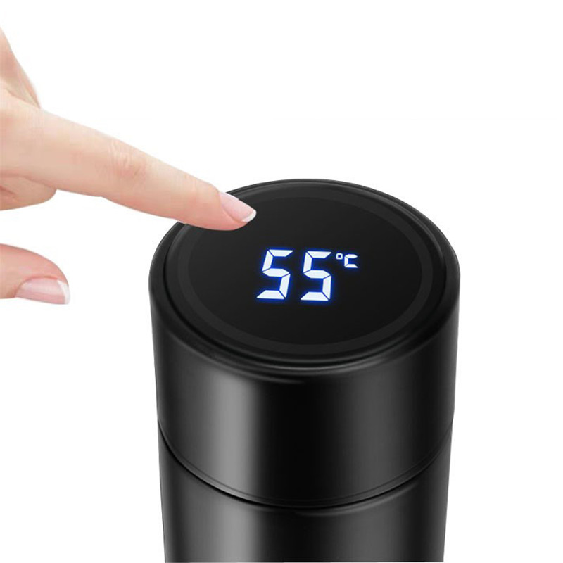Water-Thermal-Bottle Gift-Cup Temperature-Display Smart-Mug Lcd-Touch-Screen Stainless-Steel title=