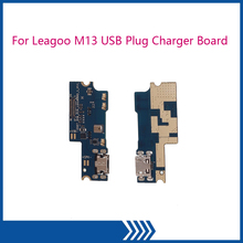 For Leagoo M13 USB Plug Charge Board Repair Parts Charger Board For Leagoo M13 Microphone accessories