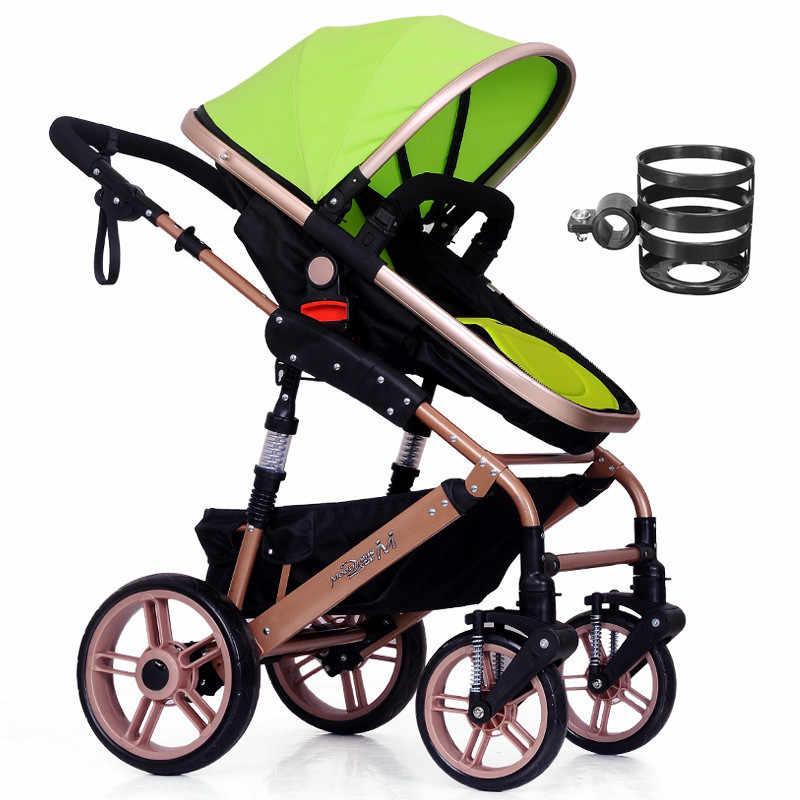1 pc plástico carrinho de bebê titular copo garrafas de leite rack bicicleta liberação rápida garrafas de água suporte de copo do bebê acessórios