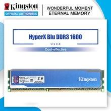 Kingston HyperX pamięci ram niebieski DDR3 4GB 8GB 1600MHz RAM ddr3 4gb 8gb PC3-12800 pamięć stacjonarna do gier DIMM