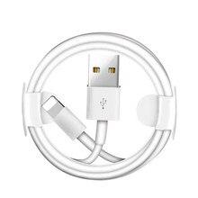 Câble de données de charge USB pour iPhone,, mini chargeur rapide, pour modèles 6 6S 7 8 Plus X XR XS 11 Pro Max SE 5S 5C 5, iPad, 5m 3m 2m 1m